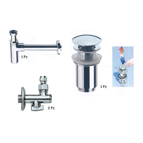 montaggio accessori bagno accessori di montaggio lavabi set tondo accessori