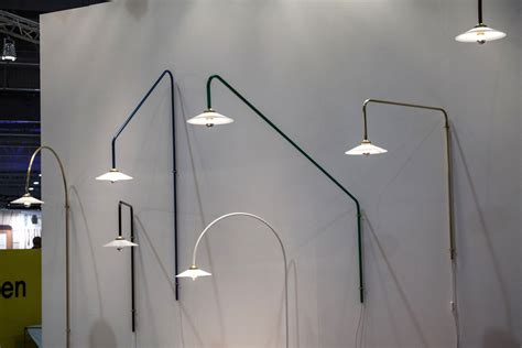 Metallic Home Decor maison and objet shows many options for bedroom lamps
