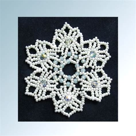 beaded snowflake patterns free 17 best images about beaded ornament patterns on