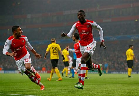arsenal injury list yaya sanogo joins arsenal injury list ahead of west brom trip