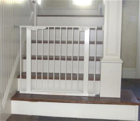 bottom of stairs pressure gate baby safe homes
