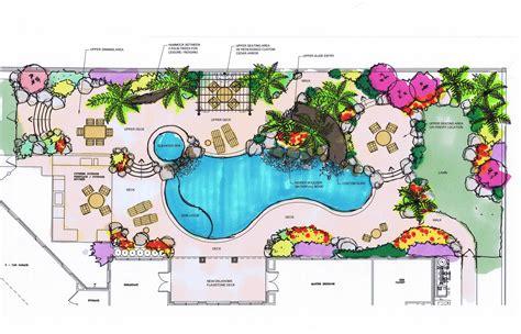 layout my landscape landscape architect master plans blueprints in dallas