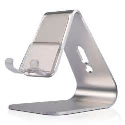 desk phone holder aluminum metal phone and tablet desk holder stand