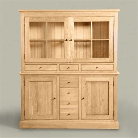 China Storage Cabinets by American Artisan Almond China Cabinet And Buffet