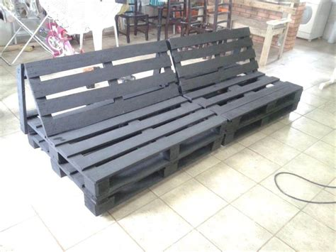 how to make a sofa out of pallets diy pallet sofa tutorial