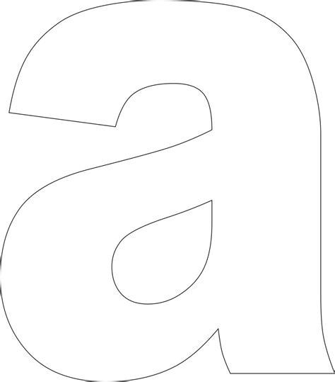 printable case alphabet letter template