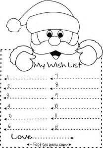 Printable Coloring Page Letter To Santa Coloring Page
