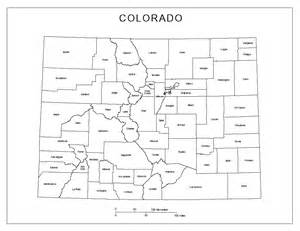 colorado state map with cities and counties colorado labeled map