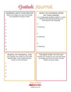 Gratitude Journal Template by Free Printable Gratitude Journal Grayson Editor