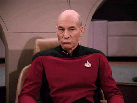 Star Trek Captains Chair by Picard Gif Find Amp Share On Giphy
