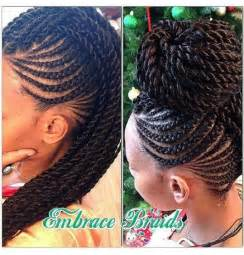 Cornrows With Senegalese Twists | cornrows senegalese twists hairstyles haircare