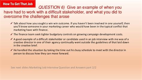 marketing manager questions templates zigy co