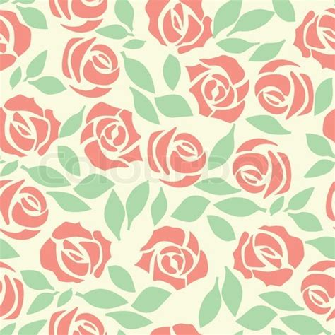 rose pattern background vector rose seamless flower background pattern floral