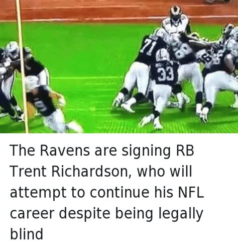 Trent Richardson Meme - the ravens are signing rb trent richardson who will
