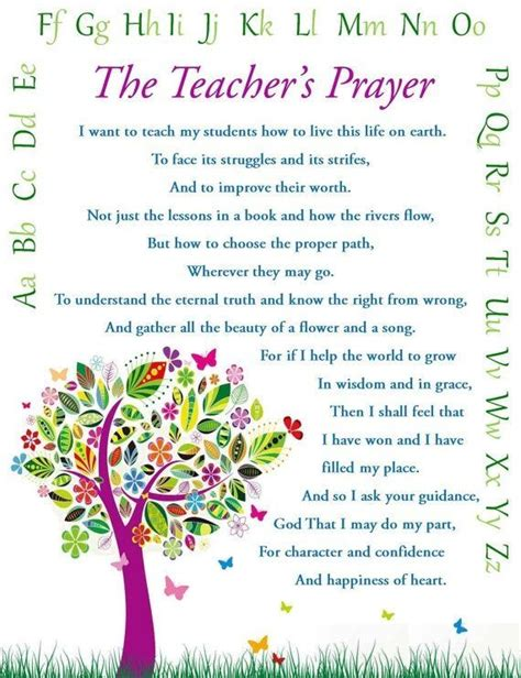 printable prayer quotes 25 best ideas about teacher prayer on pinterest prayer