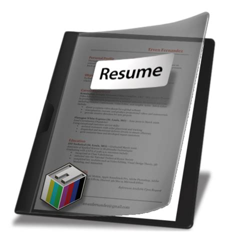 professional folder for resume resume ideas