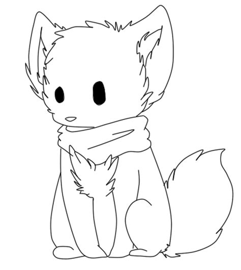 chibi dog coloring page anime chibi animal coloring pages