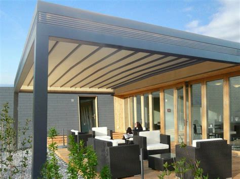 wall mounted pergola with sliding cover r210 pergolife by