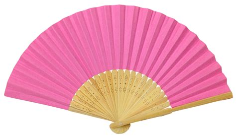 Folding Paper Fan - folding paper fan 8 25 quot light pink
