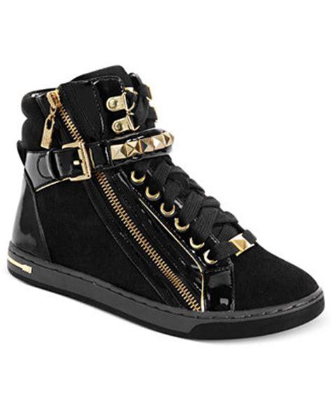 macy s shoes michael kors michael michael kors glam studded high top sneakers