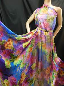 by yards designer material 100 pure silk chiffon fabric