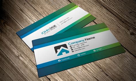 simply creative business card template 187 free download