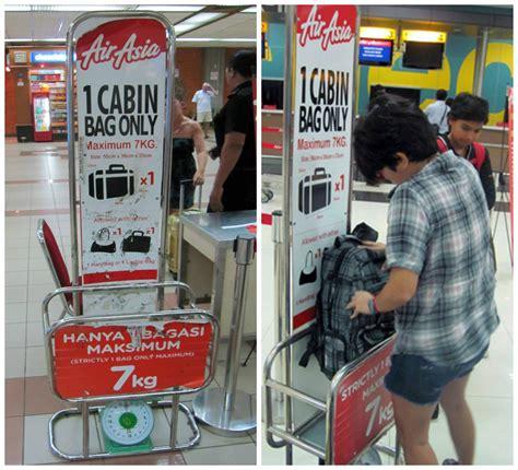 airasia cabin baggage mantra senja tips 7kg packing untuk budget traveler