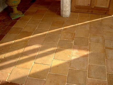 Terra Cotta Tile Flooring by Antique Light Tone Terra Cotta Tiles