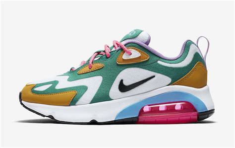 Nike Air Max 200 Mystic by Nike Air Max 200 Wmns Mystic Green White Gold Suede Release Date Sneaker Debut