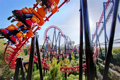 Theme Park Belgium   vire amusement park walibi belgium