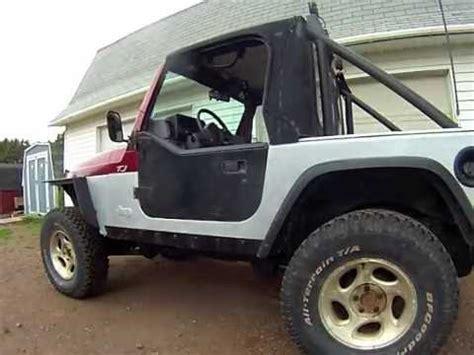 Jeep Tj Doors Jeep Yj Half Doors On A Jeep Tj