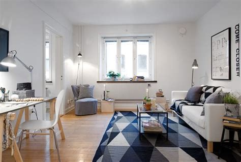Swedish Interior Design Tiny Swedish Apartment Showcases How To Decorate Small Living Spaces With Style