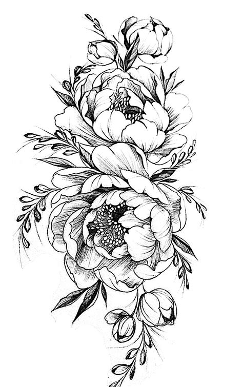 black and white flower tattoo designs pin by andrew stepanov on roses flowers