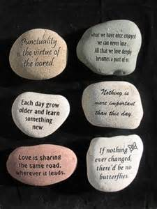 Garden Rocks With Sayings Quotes About Rocks And Stones Quotesgram