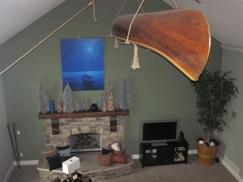 Hanging Canoe From Ceiling by Hanging Canoe From Ceiling Andrew
