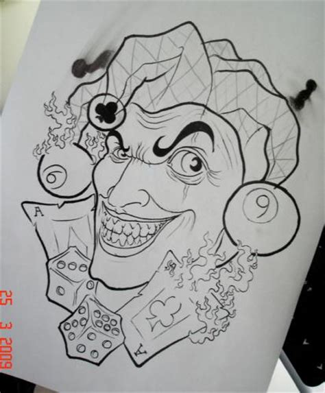 joker tattoo flash pin pin joker tattoo chicano art flash img48 unsorted on