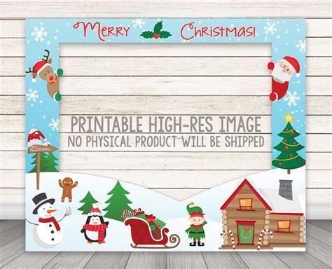christmas emoji photoframe welcome to the barn happy barn