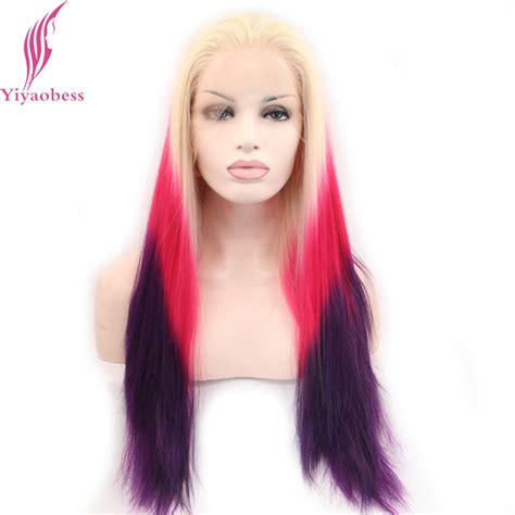 red hair blonde in front compare prices on red blonde ombre online shopping buy