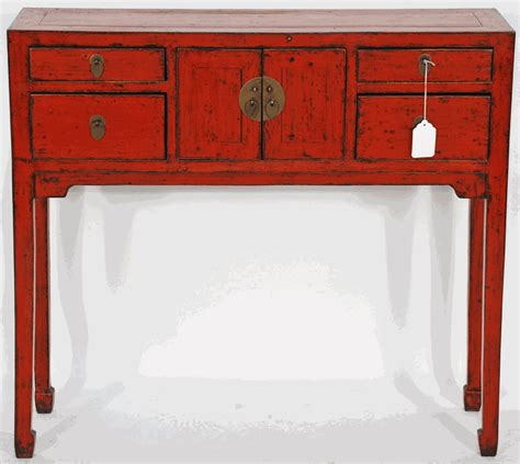 asian inspired furniture asian furniture asian inspired red lacquered console