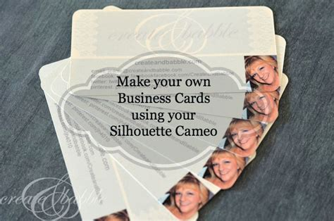 how do i make business cards someday crafts make your own business cards using your