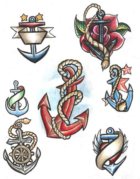 tattoo flash reddit anchor tattoo flash by ryvienna on deviantart