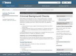 Toronto Criminal Record Check Criminal Background Checks City Of Toronto Your Rights Information