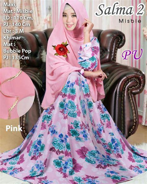 Baju Muslim Cantik baju muslim cantik salma syar i model gamis terbaru