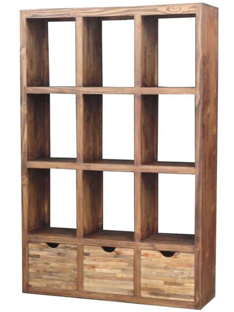 Bookshelf Room Divider Wood Open Bookcase Room Divider Loft Decor