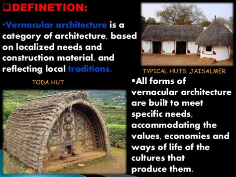 different styles of architecture vernacular architecture