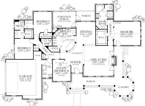texas ranch floor plans house plan 136 1000 texas inspired country