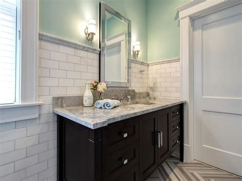 Built In Vanity Cabinets For Bathrooms by Eclectic Master Bathroom With Built In Vanity Designers Portfolio Hgtv Home Garden