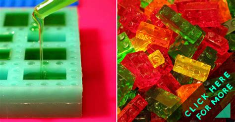 lego gummy tutorial how to make lego gummy candies cooking handimania
