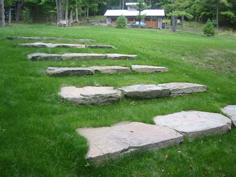 Limestone Benches More Stone Step Pictures Bluestone Fieldstone And