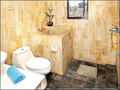design kamar mandi sempit minimalis 30 desain kamar mandi minimalis nuansa alam dengan batu
